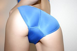 Asian slut with a pair of big tits gets